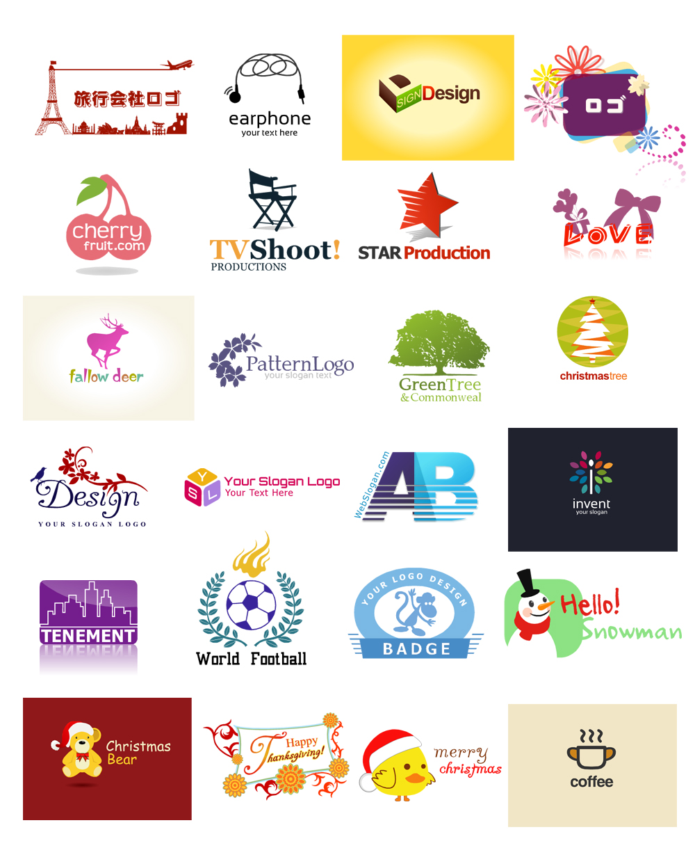 Free Online Logo Maker Design Custom Logos in Canva